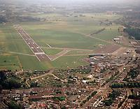 Augustus 1998. Luchthaven van Deurne.