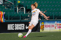 Rochester, NY - Friday June 17, 2016: Western New York Flash midfielder Samantha Mewis (5) after a regular season National Women's Soccer League (NWSL) match between the Western New York Flash and the Portland Thorns FC at Rochester Rhinos Stadium.