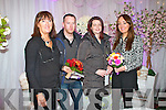 Pictured at the Wedding Fayre in the Devon Inn Hotel, Templeglantine on Sunday were L-R : Mary O'Donoghue (Tie the Knot Weddings Abbeyfeale), Kieran Bennett (Carrigkerry), Elaine Stack (Loghill) and Danielle O'Donoghue (Tie the Knot Weddings Abbeyfeale).