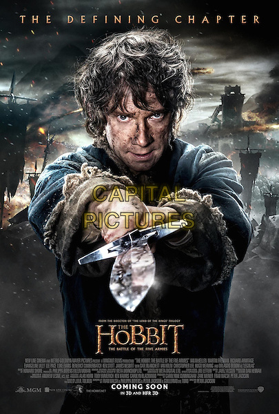 POSTER ART<br /> in The Hobbit: The Battle of Five Armies (2014)<br /> *Filmstill - Editorial Use Only*<br /> CAP/NFS<br /> Image supplied by Capital Pictures