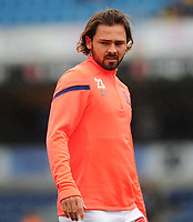 Blackburn Rovers' Bradley Dack during the pre-match warm-up <br /> <br /> Photographer Kevin Barnes/CameraSport<br /> <br /> The EFL Sky Bet Championship - Blackburn Rovers v Luton Town - Saturday 28th September 2019 - Ewood Park - Blackburn<br /> <br /> World Copyright © 2019 CameraSport. All rights reserved. 43 Linden Ave. Countesthorpe. Leicester. England. LE8 5PG - Tel: +44 (0) 116 277 4147 - admin@camerasport.com - www.camerasport.com