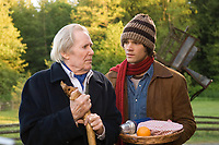 Thomas Kinkade's Home for Christmas (2008)<br /> Peter O'Toole &amp; Jared Padalecki<br /> *Filmstill - Editorial Use Only*<br /> CAP/KFS<br /> Image supplied by Capital Pictures