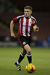 Sheffield United's Regan Slater during the FA Youth Cup First Round match at Bramall Lane Stadium, Sheffield. Picture date: November 1st 2016. Pic Richard Sellers/Sportimage
