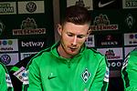 15.04.2018, Weserstadion, Bremen, GER, 1.FBL, Werder Bremen vs RB Leipzig, <br /> <br /> im Bild | picture shows:<br /> Florian Kainz (SV Werder Bremen #7), <br /> <br /> <br /> Foto &copy; nordphoto / Rauch