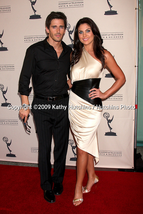 Brandon Beemer &  Nadia Bjorlin arriving at  the Daytime Emmy Nominees Reception at the Television Academy  in  North Hollywood, CA on August 27, 2009.©2009 Kathy Hutchins / Hutchins Photo.