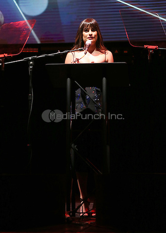 Hollywood, CA - February 19: Lea Michele, At 3rd Annual Hollywood Beauty Awards_Show, At Avalon Hollywood In California on February 19, 2017. Credit: Faye Sadou/MediaPunch