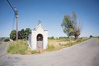 roadside chapel in Zalardinge<br /> <br /> cycling hotspots & impressions in the Vlaamse Ardennen (Flemish Ardennes) <br /> <br /> Cycling In Flanders <br /> Flanders Tourist Board<br /> <br /> ©kramon