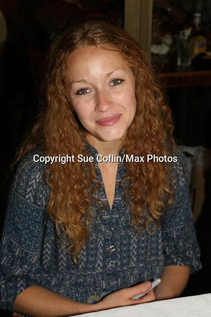 ATWT Jennifer Ferrin at 22nd Annual Broadway Flea Market & Grand Auction to benefit Broadway Cares/Equity Fights Aids on Sunday, September 21, 2008 in Shubert Alley, New York City, New York. (Photo by Sue Coflin/Max Photos)