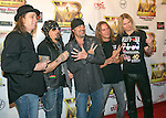 Televsion personality Danny 'The Count' Koker and the band 'Count 77' arrive at the Vegas Rocks Magazine Music Awards 2013 at the Joint inside the Hard Rock Hotel & Casino on August 25, 2013 in Las Vegas, Nevada.