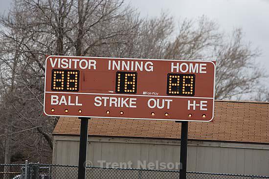 Salt Lake City - East vs. Murray high school girls softball, Tuesday March 24, 2009..