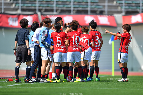 ヲエソ、, ヲ ャ シケ/Urawa Reds Ladies Team Group, <br /> JUNE 17, 2017 - Football / Soccer : <br /> Plenus Nadeshiko League Cup 2017 Division 1 <br /> match between Urawa Reds Ladies 0-0 Vegalta Sendai Ladies <br /> at Saitama Urawa Komaba Stadium in Saitama, Japan. <br /> (Photo by MATSUO.K/AFLO SPORT)
