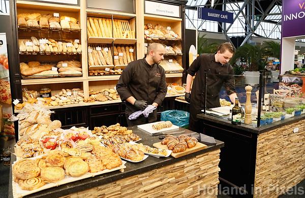 Nederland - Amsterdam - Januari 2019.  HORECAVA.  Diversi Foods broodproducten.  Foto Berlinda van Dam / Hollandse Hoogte