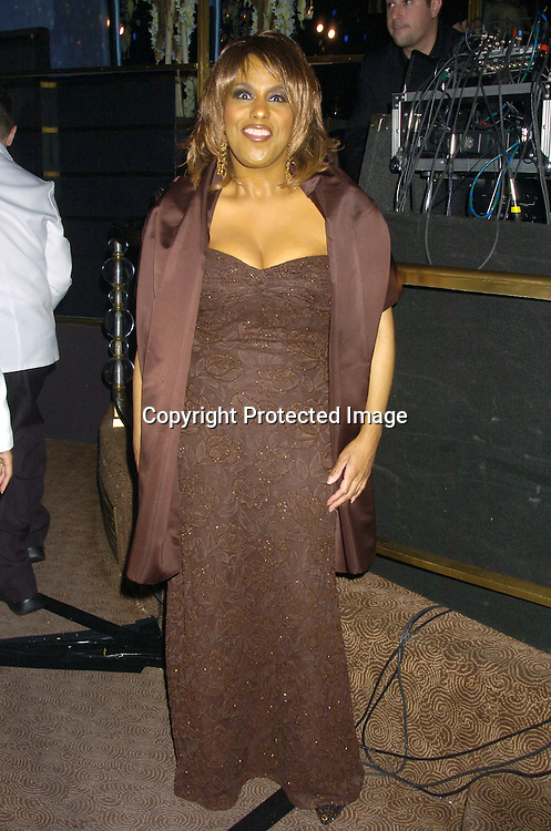"Jennifer Holiday ..at Preston Bailey's Book Party for his new book ""Fantasy Weddings"" on January 26, 2005 at The Rainbow Room. ..Photo by Robin Platzer, Twin Images"