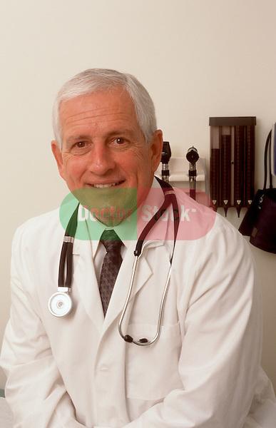 Portrait of medical professional in exam room