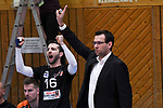 09.03.2019,  Lueneburg GER, VBL, SVG Lueneburg vs Berlin Recydling Volleys im Bild Trainer Cedric Enard (Berlin) Foto © nordphoto / Witke