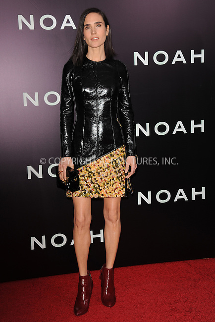 WWW.ACEPIXS.COM<br /> March 26, 2014 New York City<br /> <br /> Jennifer Connelly attending the 'Noah' New York premiere at Ziegfeld Theatre on March 26, 2014 in New York City.<br /> <br /> Please byline: Kristin Callahan<br /> <br /> ACEPIXS.COM<br /> <br /> Tel: (212) 243 8787 or (646) 769 0430<br /> e-mail: info@acepixs.com<br /> web: http://www.acepixs.com