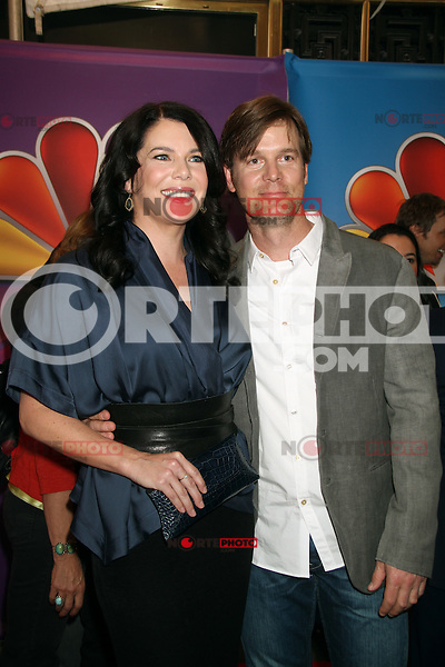 Lauren Graham and Peter Krauss at NBC's Upfront Presentation at Radio City Music Hall on May 14, 2012 in New York City. ©RW/MediaPunch Inc.