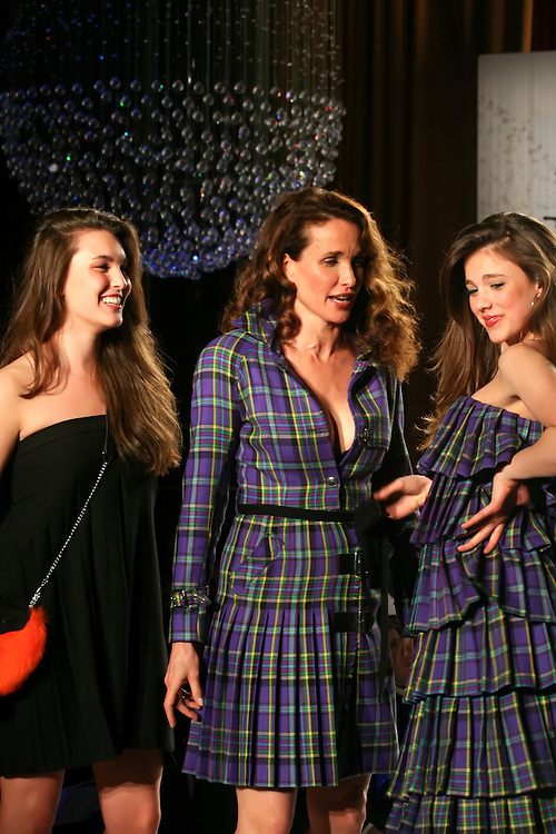 NEW YORK - MARCH 30:  Andie MacDowell walks the runway during the 2009 Dressed to Kilt at M2 Club March 30, 2009 in New York City. (Photo by Donald Bowers)