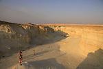 Israel, Dead Sea valley, Wadi (Nahal) Pratzim in Amiaz Plain
