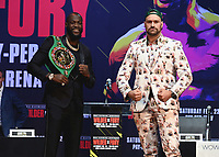 1/13/20 - Los Angeles: Wilder vs Fury II Press Conference