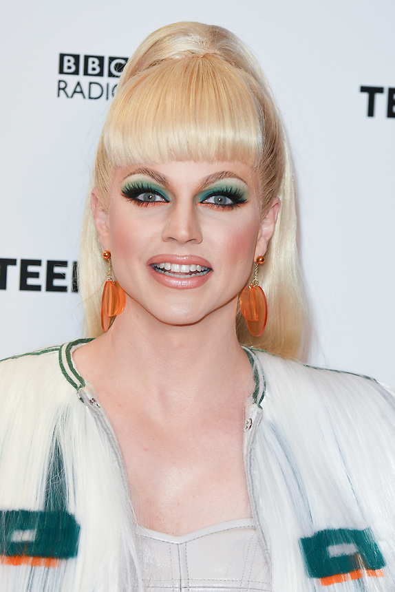 Courtney Act<br /> arriving for the Radio 1 Teen Awards 2018 at Wembley Stadium, London<br /> <br /> ©Ash Knotek  D3454  21/10/2018