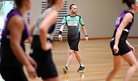 13.12.2017 Umpires in action during traning at the Silver Ferns trails in Auckland. Mandatory Photo Credit ©Michael Bradley.