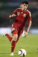 Spain's Alvaro Morata during international friendly match.November 18,2014. (ALTERPHOTOS/Acero) /NortePhoto<br /> NortePhoto.com