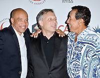 LOS ANGELES, CA - SEPTEMBER 19: Kerry Gordy, Ben Donenberg and Smokey Robinson at the 26th Annual Simply Shakespeare Benefit at The Freud Playhouse at UCLA Campus in Los Angeles, California on September 19, 2016. Credit: Koi Sojer/Snap'N U Photos/MediaPunch