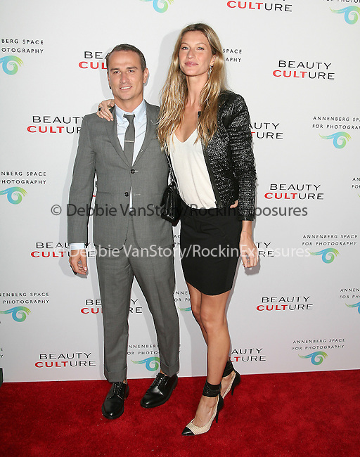 Nino Munoz and Gisele Bündchen Brady at The opening of BEAUTY CULTURE, a photographic exploration of how feminine beauty is defined, challenged and revered in modern society held at Annenberg Space for Photography in Century City, California on May 19,2011                                                                               © 2011 Hollywood Press Agency