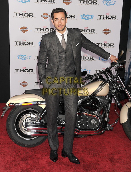HOLLYWOOD, CA - NOVEMBER 04: Zachary Levi at the Los Angeles Premiere 'Thor: The Dark World' at the El Capitan Theatre on November 4, 2013 in Hollywood, California, USA.<br /> CAP/ROT/TM<br /> &copy;Tony Michaels/Roth Stock/Capital Pictures