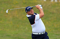 Zander Lombard (RSA) on the 18th during Round 4 of the Irish Open at LaHinch Golf Club, LaHinch, Co. Clare on Sunday 7th July 2019.<br /> Picture:  Thos Caffrey / Golffile<br /> <br /> All photos usage must carry mandatory copyright credit (© Golffile | Thos Caffrey)