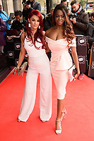 Dianne Buswell &amp; Oti Mabuse arriving for TRIC Awards 2018 at the Grosvenor House Hotel, London, UK. <br /> 13 March  2018<br /> Picture: Steve Vas/Featureflash/SilverHub 0208 004 5359 sales@silverhubmedia.com