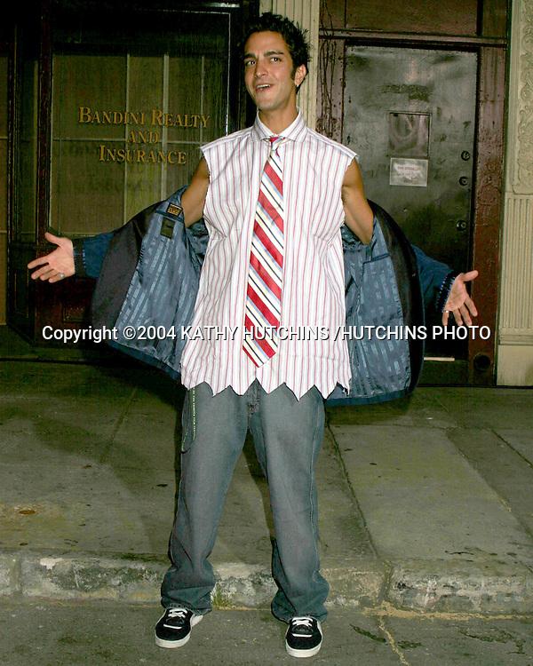 "©2004 KATHY HUTCHINS /HUTCHINS PHOTO.FOX TV TCA PARTY.TWENTHIETH CENTURY FOX LOT.CENTURY CITY, CA.JULY 16, 2004..GQ.""JOHNNY ZERO"""