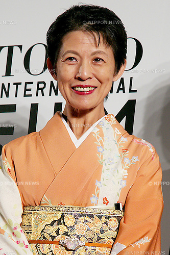 Princess Hisako Takamado, Oct 23 2014 :  Tokyo, Japan: Princess Takamado of Japan poses for the cameras at the 27th Tokyo International Film Festival, Opening Event Red Carpet at Roppongi Hills Arena in Tokyo, Japan, October 23, 2014.  The Film Festival will run through until Friday 31. (Photo by Rodrigo Reyes Marin/AFLO)