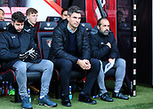 3rd December 2017, Vitality Stadium, Bournemouth, England; EPL Premier League football, Bournemouth versus Southampton; Southampton Manager Mauricio Pellegrino prepares for kick off