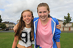 Clodagh Farrell and Aine Ryan<br /> at the Highlands sports day <br /> Picture www.newsfile.ie