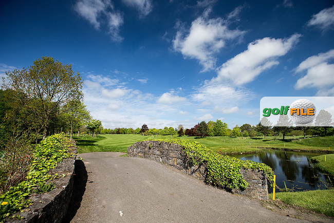 Bridge at the 6th during Tuesday's practice round ahead of the 2016 Dubai Duty Free Irish Open Hosted by The Rory Foundation which is played at the K Club Golf Resort, Straffan, Co. Kildare, Ireland. 17/05/2016. Picture Golffile | David Lloyd.<br /> <br /> All photo usage must display a mandatory copyright credit as: &copy; Golffile | David Lloyd.