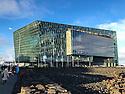 HARPA, concert hall, Reykjavik.