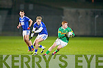 John Mitchels Alan O'Donoghue gets away from Kerins O'Rahilly's Giles O'Grady at Austin Stack park, Tralee on Saturday.