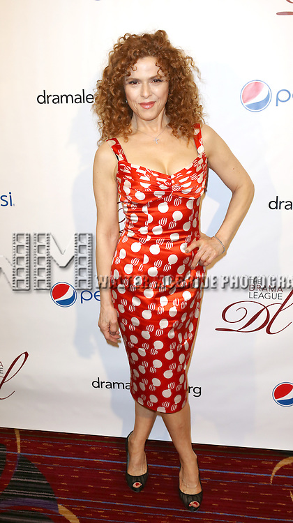Bernadette Peters attending the 79th Annual Drama League Awards at the Marriott Marquis Times Square in New York City on May 17, 2013.
