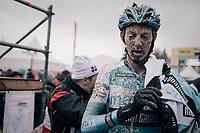 Michael Vanthourenhout (BEL/Marlux-Napoleon Games) post-finish<br /> <br /> Elite Men's race<br /> UCI CX World Cup Namur / Belgium 2017