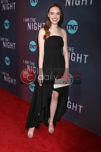 "Kassidy Slaughter<br /> at the ""I Am The Night"" Premiere, Harmony Gold Theater, Los Angeles, CA 01-24-19<br /> David Edwards/DailyCeleb.com 818-249-4998"