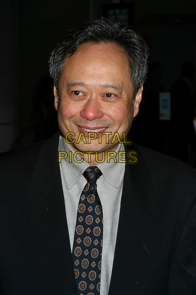 "ANG LEE.""Brokeback Mountain"" New York Premiere at Loews Lincoln Square, New York City..December 6th, 2005.Ref: IW.headshot portrait red nose.www.capitalpictures.com.sales@capitalpictures.com.©Capital Pictures"