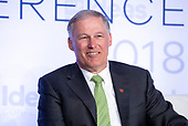 Governor Jay Inslee (Democrat of Washington) appears on a panel at the Center for American Progress' 2018 Ideas Conference at the Renaissance Hotel in Washington, DC on Tuesday, May 15, 2018.<br /> Credit: Ron Sachs / CNP<br /> (RESTRICTION: NO New York or New Jersey Newspapers or newspapers within a 75 mile radius of New York City)