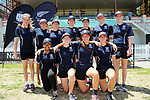 New Plymouth GHS. The 2017 New Zealand Secondary Schools 1st XI NZCT girls' cricket national finals at Fitzherbert Park in Palmerston North, New Zealand on Sunday, 3 December 2017. Photo: Dave Lintott / lintottphoto.co.nz