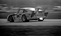 The #94 Porsche 935 of Don Whittington, Bill Whittington, and Dale Whittington in action oat the 24 Hours of Daytona, Daytona International Speedway, February 1, 1981.  (Photo by Brian Cleary/www.bcpix.com)