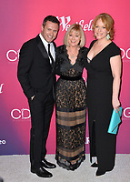 LOS ANGELES, CA. February 19, 2019: Jason O'Mara, Catherine Adair & Chelah Horsdal at the 2019 Costume Designers Guild Awards at the Beverly Hilton Hotel.<br /> Picture: Paul Smith/Featureflash