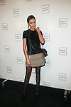 Model Selita Ebanks: New York Mercedes-Benz Fashion Week Spring 2012 - Herve Leger - Backstage New York City, USA - 9/13/11