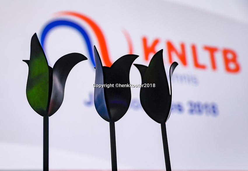 Nieuwegein,  Netherlands, 24 November 2018, KNLTB Year congress KNLTB, black tulips<br />