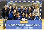 ROTTERDAM  - NK Zaalhockey  finale A'dam MB1-Kampong B1 (3-4). Kampong Nederlands Kampioen -16.    COPYRIGHT KOEN SUYK